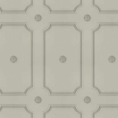 Georgian Dot Panelling Wallpaper French Grey Georgian Dot Panelling Wallpaper
