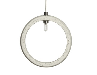 Ghetto Concrete Pendant Light Ivory