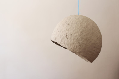 Globe Paper Pulp Pendant Light Globe