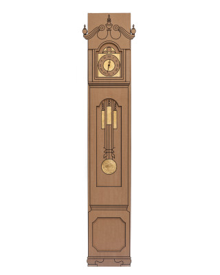 Golden Time Clock