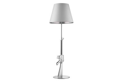 Guns Floor Lamp Chrome