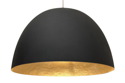 H2O Pendant Light Black and Gold