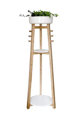 Hop Coat Rack White