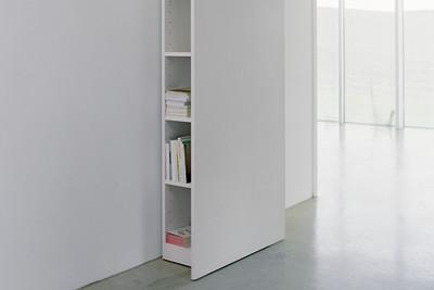 HP06 Kast Drie Shelf White