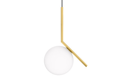 IC Pendant Light S1, Brushed Brass, Small