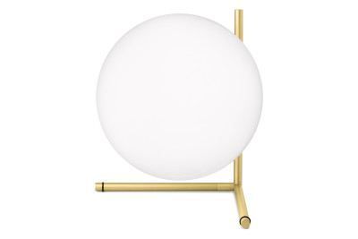 IC T2 Table Lamp Brushed Brass, Gold