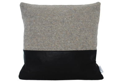 Ilua Cushion  Charcoal Block
