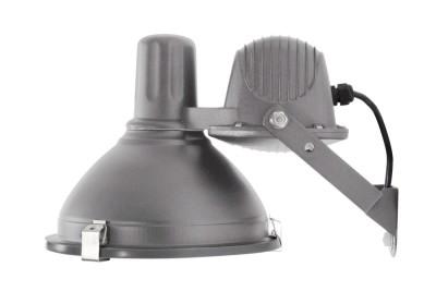 Industrial Wall Lamp Sand Dark Grey , Large