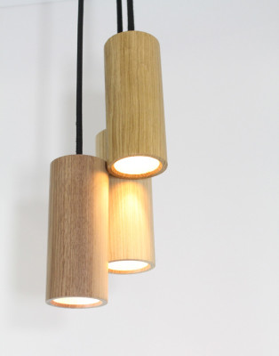 JB Pendant Light - Set of 3 Ash