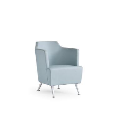 Jules Small Armchair A4500 - Art.48045 - 206 beige, Natural Stained Beech Feet