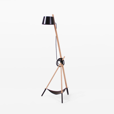 Ka M Floor Lamp Functional, Black