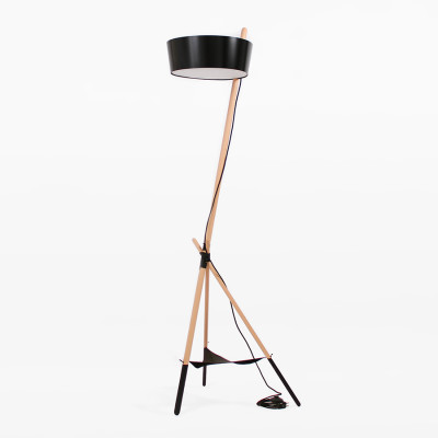 Ka XL Floor Lamp Black