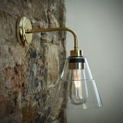 Kairi Wall Light  Polished Brass