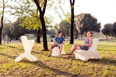 Keer Modular Chair White