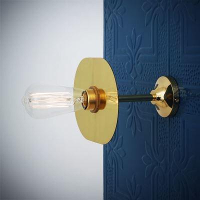 Kigoma Wall Light Polished Brass