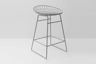 KM06 Kitchen Stool Haze Grey