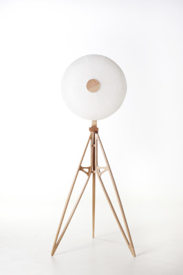 Kyoto Floor Lamp Neutral