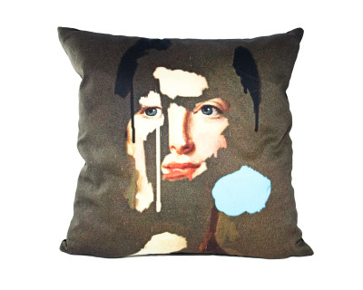 Lady Peacock Cushion