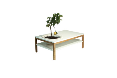 Lagune Coffee Table White
