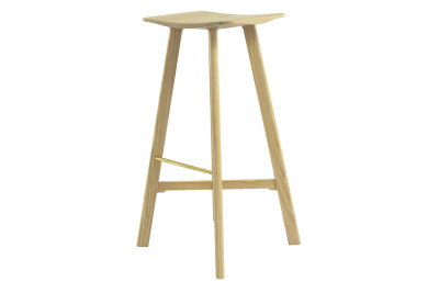LE2 Winged Bar Stool ASH