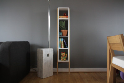 Lean Man Shelves Black