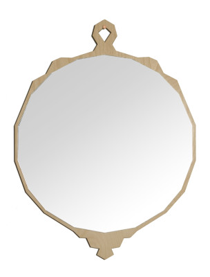 Lex Wall Mirror Natural