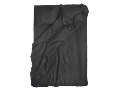 Black linen duvet cover King/UK Super King 260x220cm