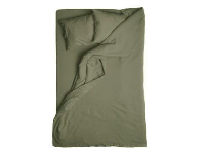 Linen Duvet Cover - Moss Green Queen/UK King 230x220cm