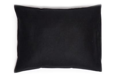 Black linen pillowcase 2 pillowcases 50x75cm