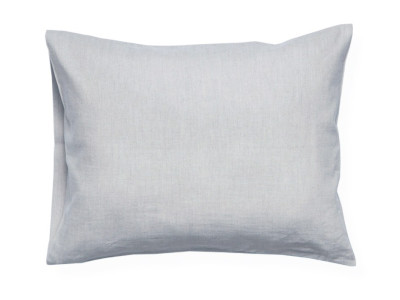 Dove grey linen pillowcase 1 pillowcase 50x75cm