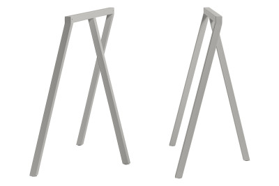 Loop Stand Frame Grey, Low