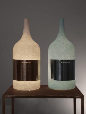 Luce Liquida 1 Table Lamp White