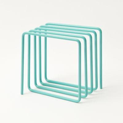 Magazine Rack Blue