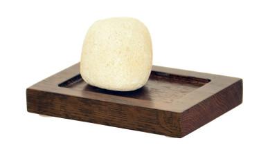 Mezza Soap Dish Dark Oak