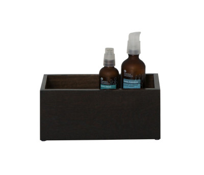 Mezza Storage Box Dark Oak