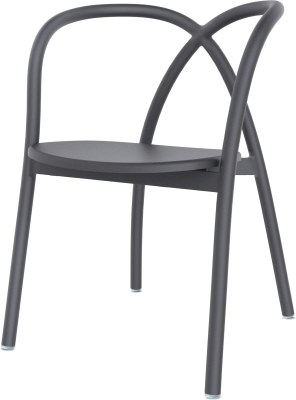 Ming Dining Chair I Black