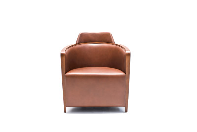 Miss Armchair A4500 - Art.48045 - 206 beige, Natural Stained Feet