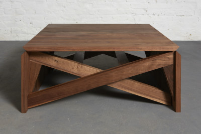 MK1 Transforming Combined Table Solid Walnut