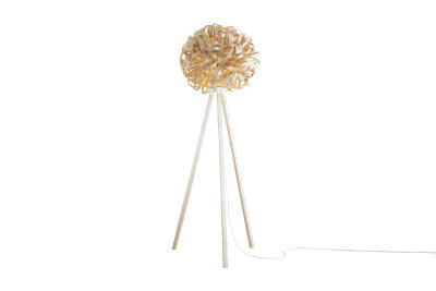 No. 1 Floor Lamp Ash with Wooden Floor Stand, Giant