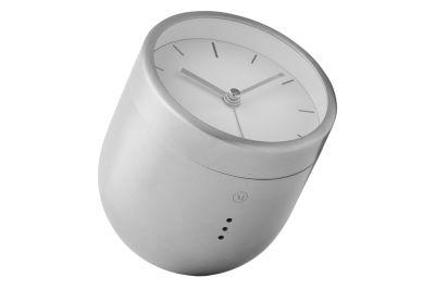 Norm Tumbler Alarm Clock Brush Stanless Steel