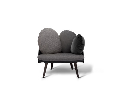 Nubilo Armchair Black, Grey