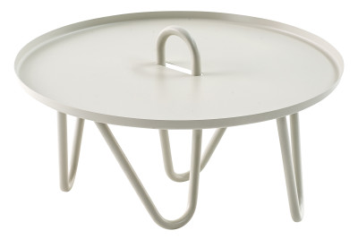 Oasis Coffee Table White Matt