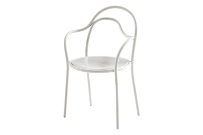 Oasis Dining Chair White Matt