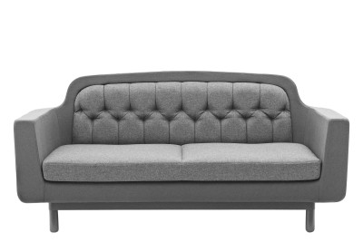 Onkel 2 Seater Sofa Light Grey