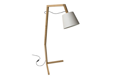 Oud L Floor Lamp White