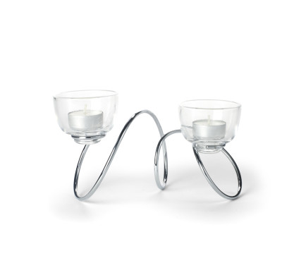 Outdoor T-Loop Candle Holder
