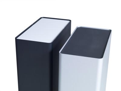 P-drei Container Anodized Black, Small