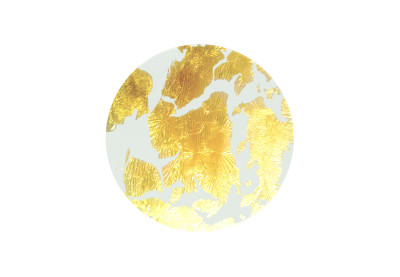Penelope Underplate with Gold Foil Gold Foil Small Ø 22 cm