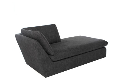 Pillowtalk Chaise Dark Grey