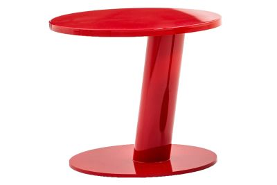 Pipe Coffee Table Shiny Red